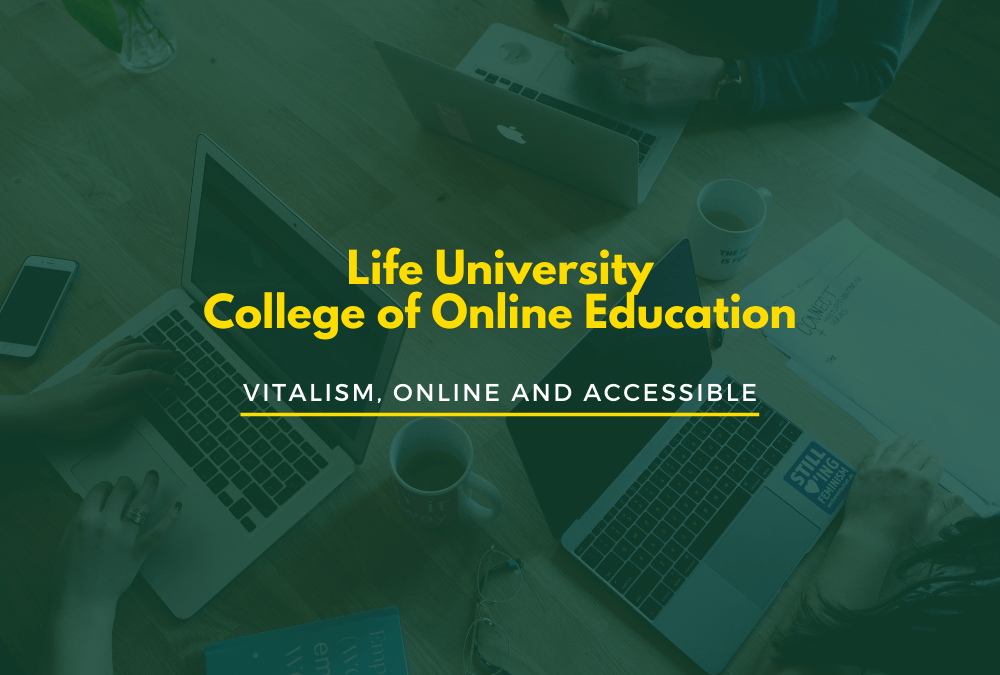 College of Online Education: Vitalism, Online and Accessible