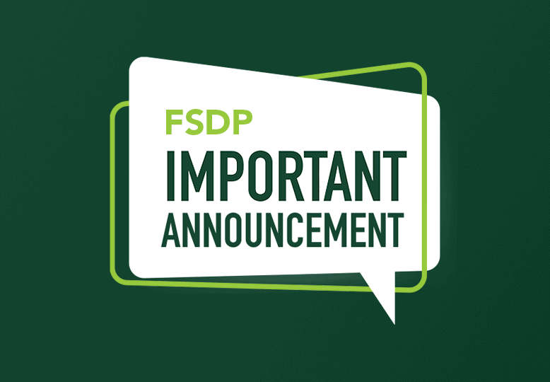FSDP Call for Announcements