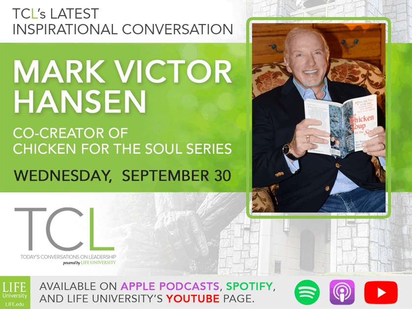 TCL Sept 30: Mark Victor Hansen