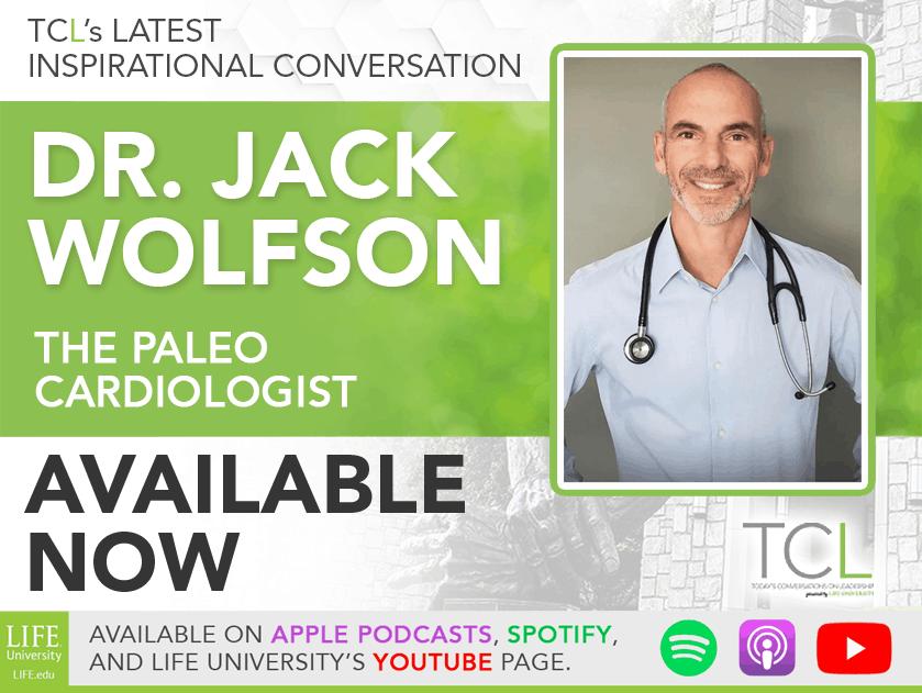 TCL November 10: Dr. Jack Wolfson