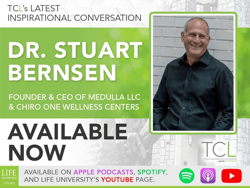 TCL December 9: Dr. Stuart Bernsen