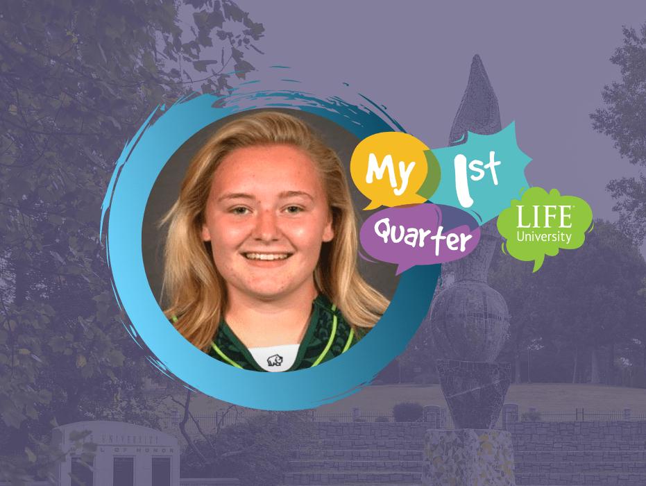 My 1st Quarter: Jess Keating