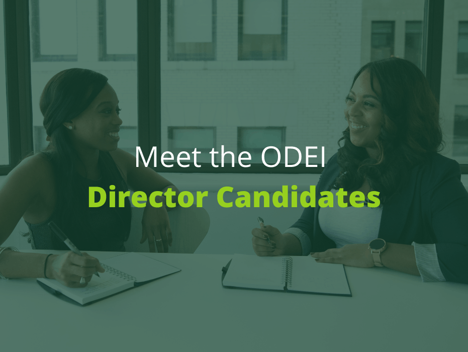 Meet the ODEI Director Candidates