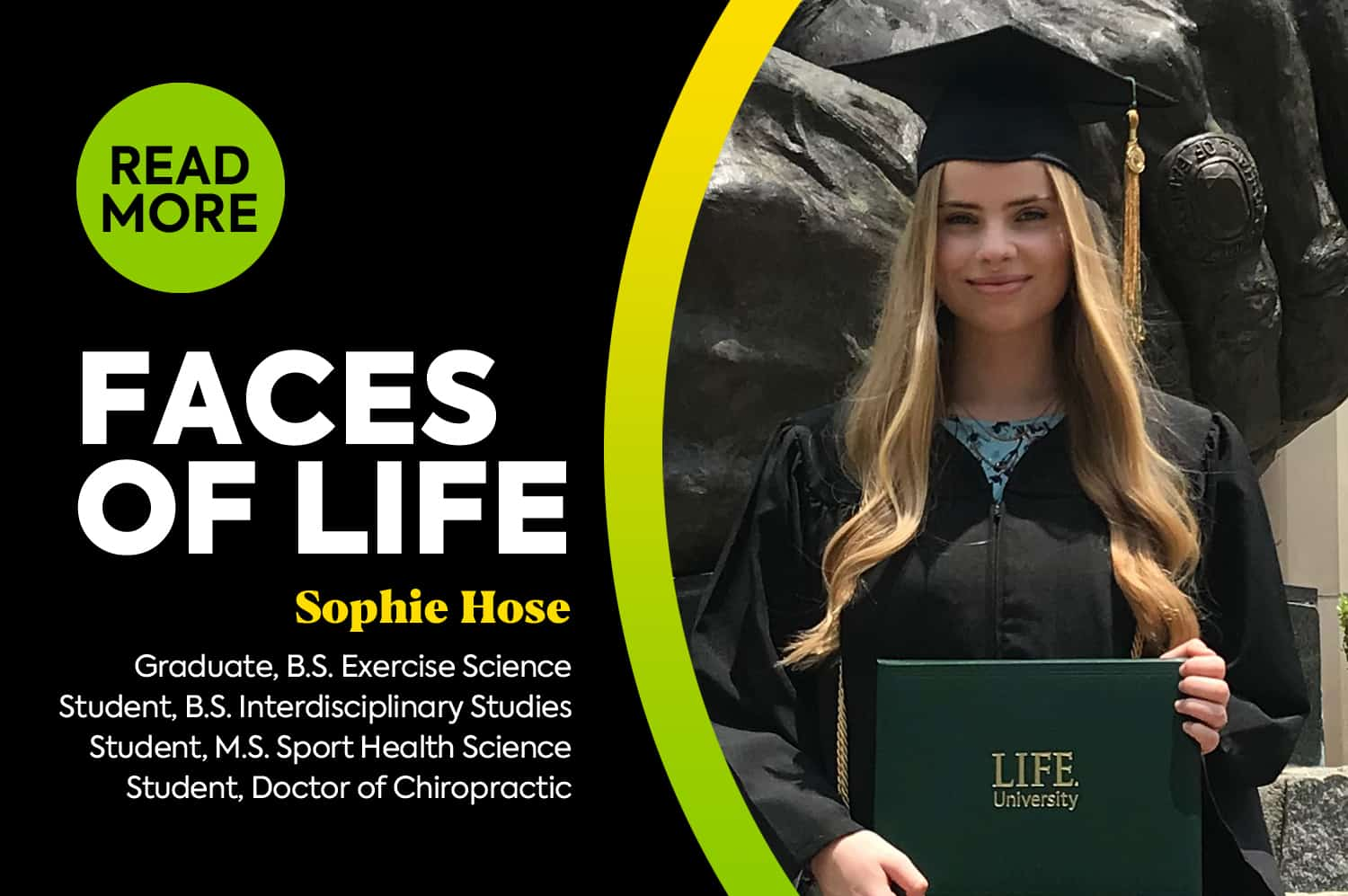 Faces of LIFE – Sophie Hose